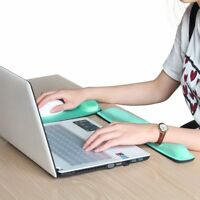 Ergonomic Memory Foam Mouse  Wrist Rest Pad & Keyboard Pad For Computer/Laptop