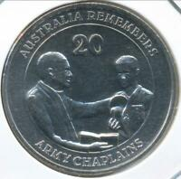 Australia, 2013 Twenty Cents, 20c, Elizabeth II (Army Chaplains) - Gem-Unc