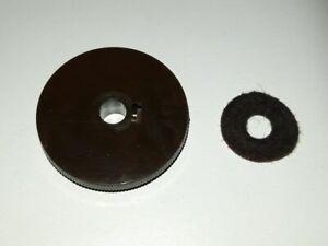 Pos 4) 1 Ersatzteil für Drehknopf aus Grundig 3010 - Röhrenradio Ersatzteil