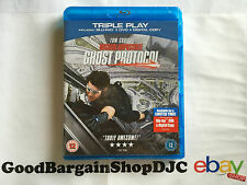 Mission: Impossible - Ghost Protocol (Blu-ray & DVD, 2012) *New & Sealed*