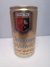 CHAMPAGNE MALT LIQUOR ALUMINUM PULL TAB BEER CAN #54-24  EVANSVILLE, IND.