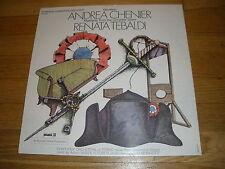 RENATA TEBALDI andrea chenier Giordano LP Record - Sealed