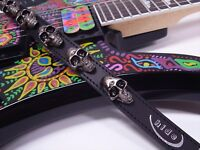 New FERNANDES X JAPAN hide Model Skull Strap For Guitar From Japan