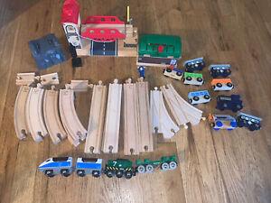 Hape Wood Train Set