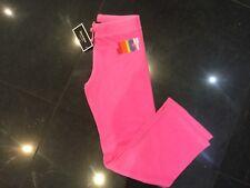 NWT Juicy Couture New & Gen. Girls Age 10 Pink Cotton Original Leg Pants & Logo