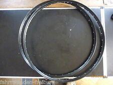 2 neue aluminiumfelgen 28x1. 75 oder 47-622 Westwoodprofil schwarz-matt, 36 loch