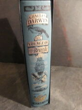Folio Society The Voyage of H.M.S. Beagle by Charles Darwin Printed in 2003