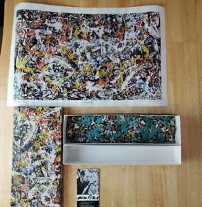 Vintage Springbok Jigsaw Puzzle  CONVERGENCE / Jackson Pollock ~