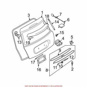 For Mini Genuine Hatch Seal 51717132471