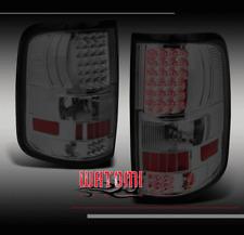 04-08 FORD F-150 STYLESIDE LED ALTEZZA TAIL BRAKE LIGHT REAR LAMP SMOKE 05 06 07