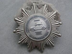 vintage german VOLKSWAGEN VW MOTORSPORT CLUB POLIZEI HANNOVER 2001 RALLYE Badge