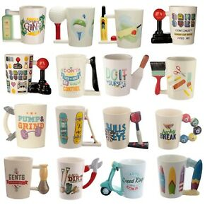 Novelty DIY Garden Tea Coffee Mug Cup Fathers Day Birthday Gift Retro Uncle Son