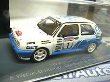 VW Golf II G60 Rallye Weber Dt. Rallyemeister Champion 1991 #1 NEO Resin 1:43