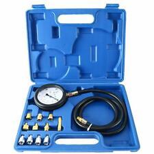 Auto Engine Oil Pressure Tester Gauge Diagnostic Tester Tool Kit 500PSI W/Case