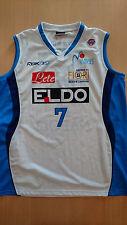 Baloncesto Basketball jersey canotta Miroslav Raicevic Napoli match worn