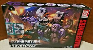NEW TRANSFORMERS TRYPTICON TITANS RETURN GENERATIONS SLIGHTLY DENTED BOX