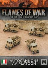 Flames of War Italian Autocannone AA Platoon (IBX20)