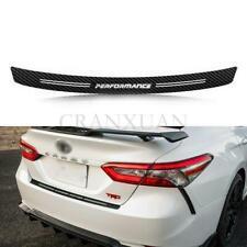 Carbon Fiber Car Scuff Plate Door Sill Panel Protector Guard Cover Sticker NEW