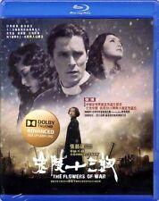 """Zhang Yimou """"The Flowers Of War"""" Zhang Yimou HK 2011 Drama Region  A Blu-Ray"""