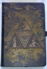 Legend of Zelda Metal Triforce Hardcover Writing Journal Notebook Licensed