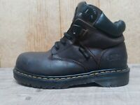 Dr. Martins Air Wair Men's 6 Brown Steel Toe Industrial Comfort Work Boots MK3