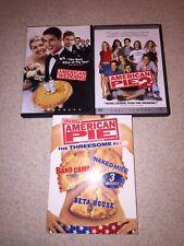 American Pie 2-AP Naked Mile-Beta House-Band Camp-American Wedding DVD Lot