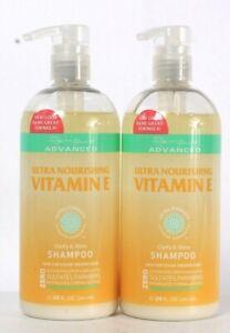 2 Ct Renpure Advanced 24 Oz Ultra Nourishing Vitamin E Clarify & Shine Shampoo