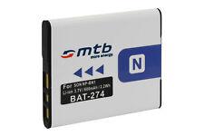 Batería NP-BN1 BPBN1 para Sony Cyber-Shot DSC-W550, W560, W570, W580, WX5, WX7