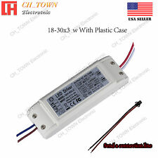 Constant Current LED Driver 60W 18-30X3W DC 54-105V 600mA Lamp Bulb Power Supply