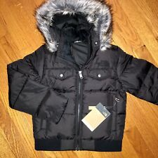 North Face - Girls Gotham Down Bomber Jacket - Black Small S Parka - $180