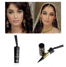 Arabian Waterproof Kohl Eyeliner Solid Thick Black Bold Eyes Liner Makeup 1x