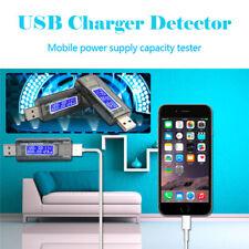 USB Charger Battery Doctor Mobile Power Detector Tester Voltage Current Meter UK