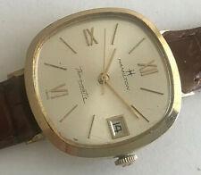 Vintage 10 Karat Gold filled Hamilton Thinomatic automatic mens watch, cal. 630