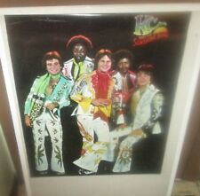 KC AND SUNSHINE BAND POSTER NEW 1980'S RARE VINTAGE COLLECTIBLE OOP
