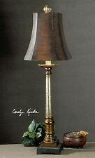 "XL 33"" VINTAGE FRENCH RESTORATION TABLE LAMP LIGHT OLD WORLD HOME DECOR"