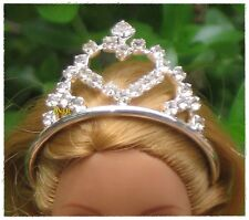 Beautiful Crown Fashion Costumes with Crystal for Dolls, Barbie Dolls, 3+ years