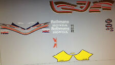 HONDA NSR250 NSR250R NSR250R-SP MC28 ROTHMANS DECAL SET