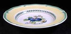 Villeroy Boch FRENCH GARDEN VALANCE Soup Bowl Prunus Domestica GREAT CONDITION