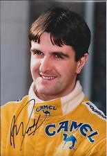Martin DONNELLY Race Autograph SIGNED LOTUS Formula 1 F1 12x8 Photo AFTAL COA