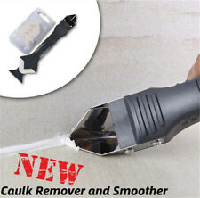3 In 1 Silicone Remover Caulk Finisher-Sealant Smooth Scraper Grout Kit Tool New