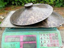 30cm Tibetan Temple Ritual Bell Faqi Bronze Dreary Sound Cymbals Hand Bell #1632