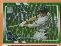 2021 Topps Baseball  - Green Foil Parallel #86 Austin Meadows - 432/499