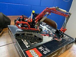 Lego Technic 8294 Red Excavator