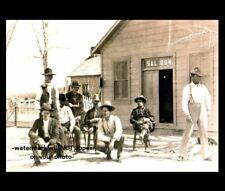 1889 Butch Cassidy Sundance Kid Saloon Photo Wild Bunch Hole In The Wall Gang