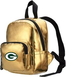 NWT NFL Greenbay Packers Spotlight Women's Backpack Gold