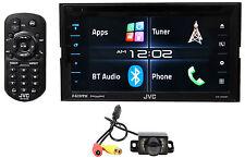 "JVC KW-V620BT 6.2"" Car DVD Player+Bluetooth/iPhone/Android/HDMI/iDatalink+Camera"