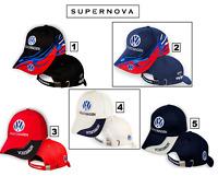 Volkswagen 3D Brode Auto Logo Casquette Chapeau Baseball Cap Noir Rouge Bleu