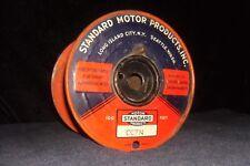 Standard Motor Products Metal Spool Spark Plug Ignition Wire Vtg Garage Sign
