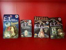 🔴 Lotto giocattoli d'epoca ET originali anni 80 ancora sigillati spielberg