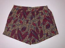 Vintage Hobie Geometric Print Swim Trunks Shorts Size 1X